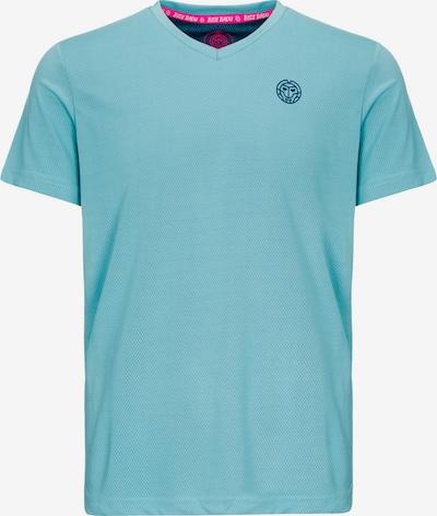 BIDI BADU T-Shirt Evin Tech mit Logo-Print in blau, Produktansicht