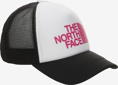 THE NORTH FACE Cap in pink / schwarz / weiß: Frontalansicht
