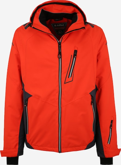 KILLTEC Sport-Jacke 'Mylo' in orange / schwarz, Produktansicht