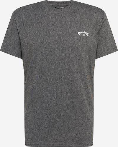 BILLABONG Tričko - tmavě šedá / bílá, Produkt