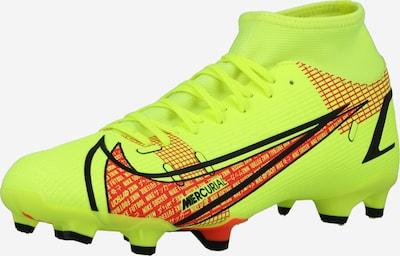 Ghete de fotbal 'Mercurial 8 Academy' NIKE pe galben neon / roșu neon / negru, Vizualizare produs