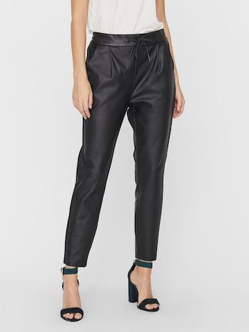 Pantalon à pince 'EVA' VERO MODA en noir