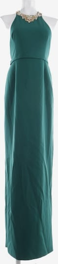Marchesa Maxiabendkleid in S in gold / dunkelgrün, Produktansicht