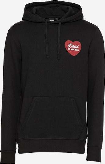 DEUS EX MACHINA Sweatshirt in de kleur Rood / Zwart / Wit, Productweergave