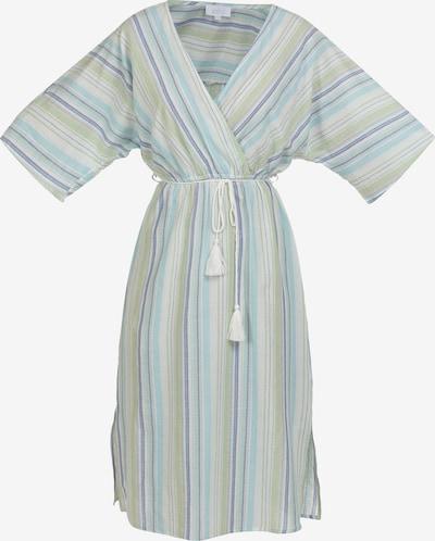 usha BLUE LABEL Kleid in navy / hellblau / hellgrün / weiß, Produktansicht