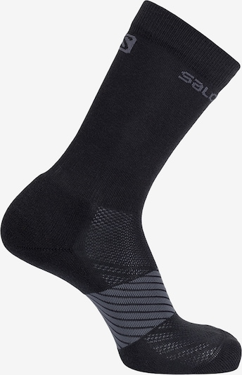 SALOMON Athletic Socks 'Gran Paradiso' in Black, Item view