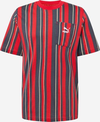 PUMA Majica u crvena / crna / bijela, Pregled proizvoda