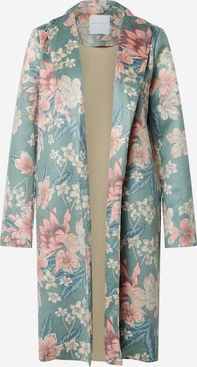 RINO & PELLE Manteau mi-saison en bleu pastel / mélange de couleurs, Vue avec produit