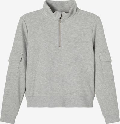 NAME IT Sweatshirt 'Duci' in graumeliert, Produktansicht