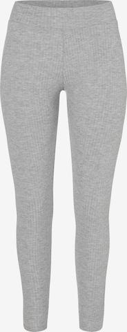 PIECES Leggings i grå