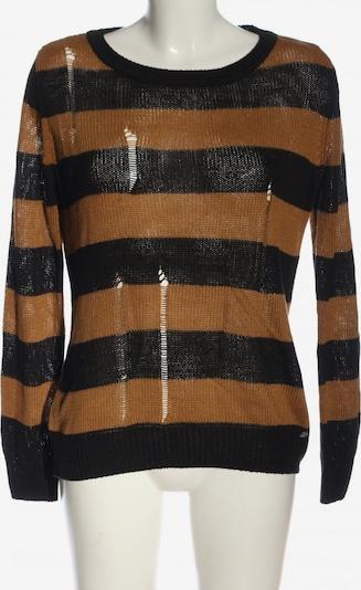 AJC Rundhalspullover in M in braun / schwarz, Produktansicht