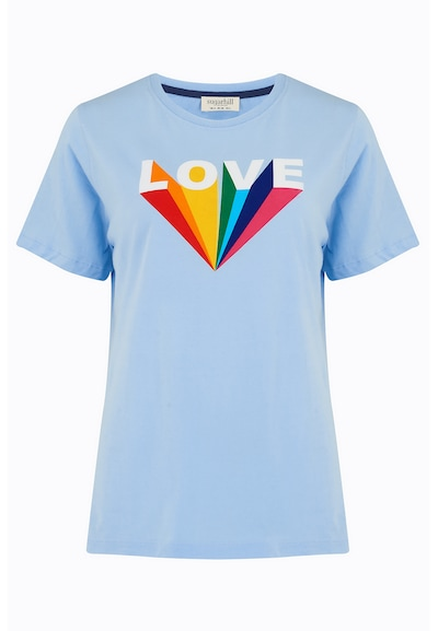 Sugarhill Brighton Majica 'Maggie Love Rays' u plava / zelena / crvena / bijela, Pregled proizvoda