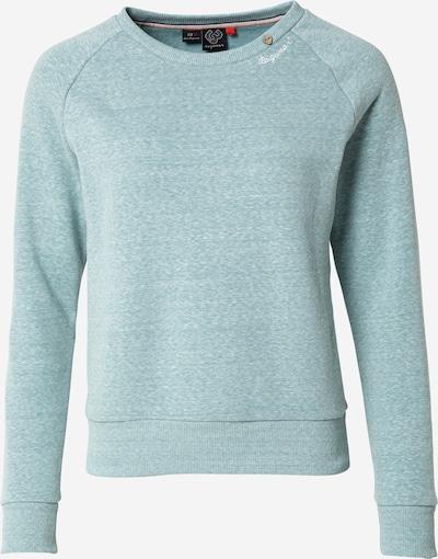 Ragwear Sweatshirt 'JOHANKA' in grünmeliert, Produktansicht