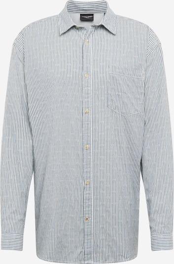 Jack & Jones Plus Hemd 'BLUJACOB' in blau / weiß, Produktansicht