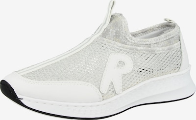 RIEKER Slip-Ons in Silver / White, Item view