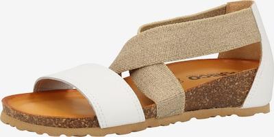 IGI&CO Sandale in beige / weiß, Produktansicht