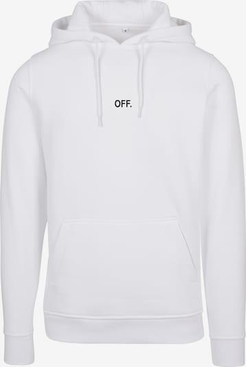 Mister Tee Sweatshirt 'Off' i svart / vit, Produktvy