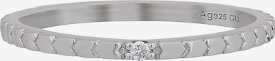 Jacques Lemans Ring in silber, Produktansicht