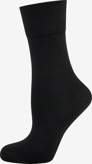 ELBEO Bio Freizeitsocken ' 3er-Pack Organic Cotton ' in schwarz, Produktansicht