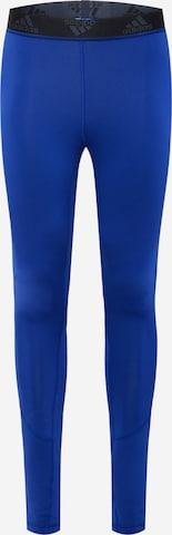 Pantaloni sportivi di ADIDAS PERFORMANCE in blu