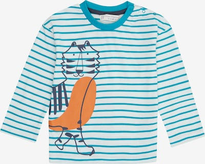 Tricou 'Hans' Sense Organics pe albastru, Vizualizare produs