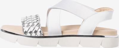 BRAX Sandale in grau / weiß, Produktansicht