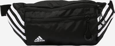 Marsupio sportivo ADIDAS PERFORMANCE di colore nero / bianco, Visualizzazione prodotti
