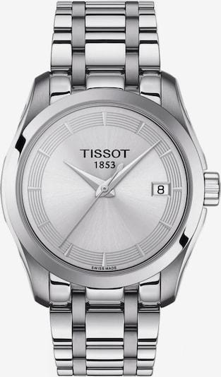 Tissot Uhr in silber, Produktansicht