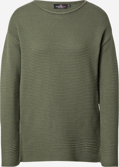 Zwillingsherz Sweater in Olive, Item view