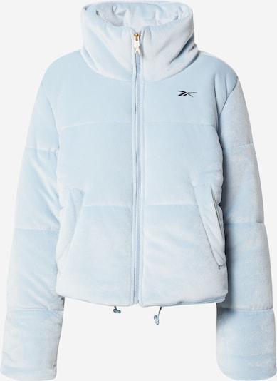 Reebok Sport Športna jakna | svetlo modra / črna barva, Prikaz izdelka