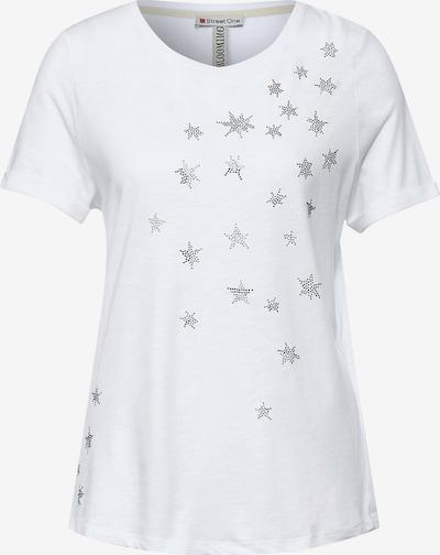 STREET ONE T-Shirt in transparent / weiß, Produktansicht