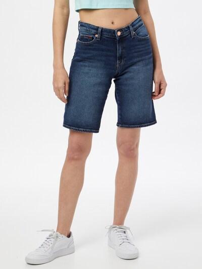 Tommy Jeans Shorts in dunkelblau, Modelansicht