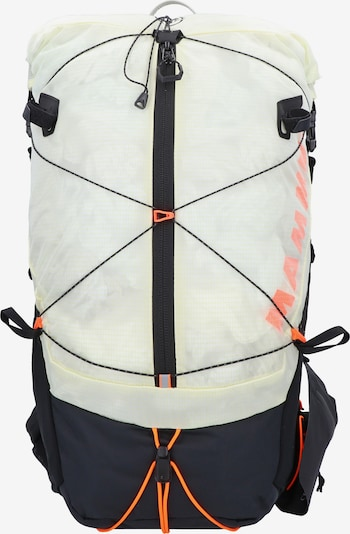MAMMUT Sportrugzak 'Ducan Spine' in de kleur Lichtgeel / Sinaasappel / Zwart, Productweergave