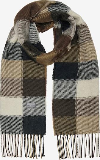 Only & Sons Sjaal 'Carlo' in de kleur Beige / Bruin / Zwart, Productweergave