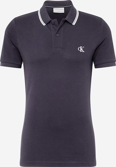 Calvin Klein Jeans T-Shirt en noir / blanc, Vue avec produit