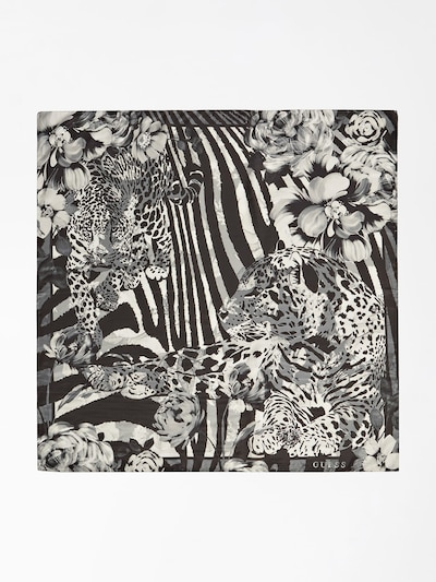 GUESS Tuch in schwarz / weiß, Produktansicht