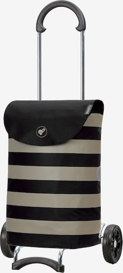 Andersen Shopper Einkaufstrolley 'Ida ' in beige / schwarz, Produktansicht