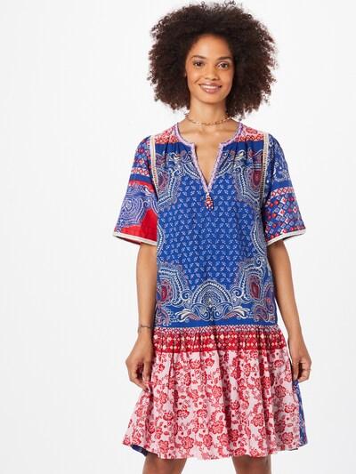 Rochie tip bluză 'CADEAU' Derhy pe albastru / roz / roșu / alb, Vizualizare model