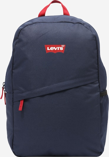 LEVI'S Backpack in Dark blue / Red / White, Item view