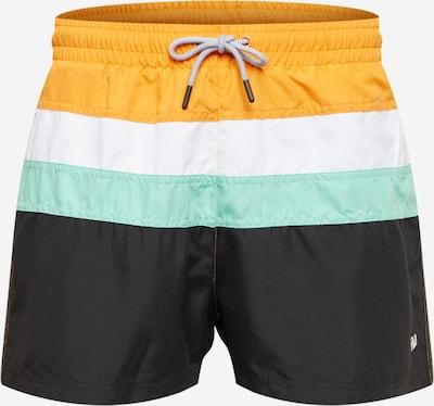 FILA Plavecké šortky 'Filippo' - tyrkysová / žlutá / černá / bílá, Produkt