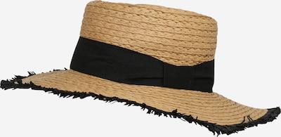 VERO MODA Шапка с периферия в кафяво / черно, Преглед на продукта