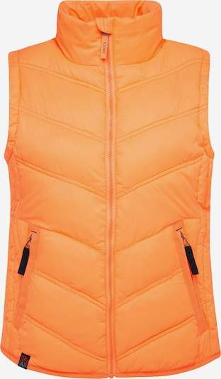 Soccx Outdoorweste mit Zippertaschen in orange, Produktansicht