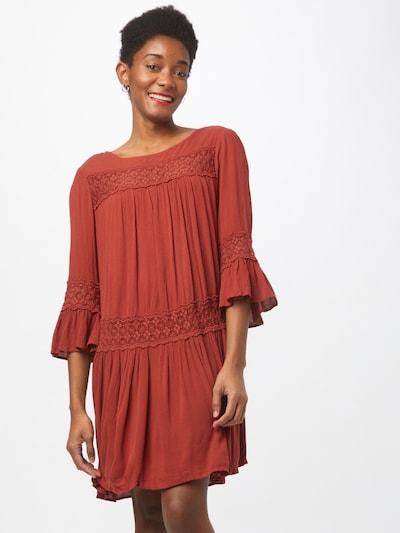ONLY Šaty 'TYRA' - tmavě červená, Model/ka