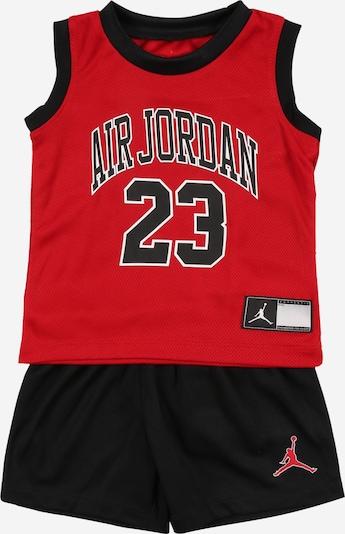 Jordan Odjeća za vježbanje u crvena / crna / bijela, Pregled proizvoda