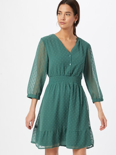 ABOUT YOU Kleid in petrol / dunkelgrün, Modelansicht