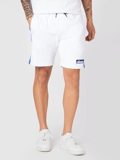 kék / fehér ELLESSE Nadrág 'Davin', Modell nézet