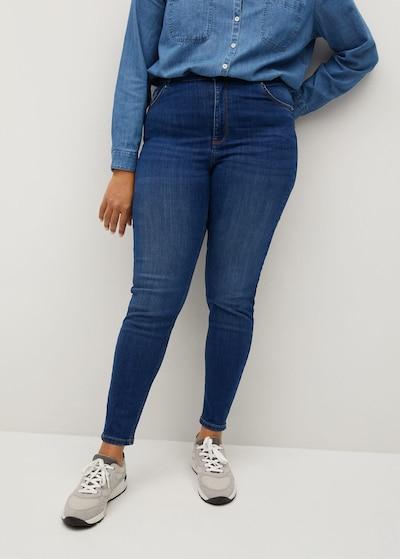 VIOLETA by Mango Jeans in dunkelblau, Modelansicht