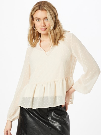 ABOUT YOU Bluse 'Rea' in creme, Modelansicht