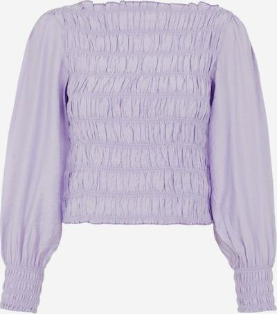 Tricou Y.A.S pe mov liliachiu, Vizualizare produs