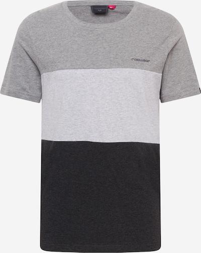 Tricou 'CRUZ' Ragwear pe gri metalic / gri deschis / gri amestecat, Vizualizare produs